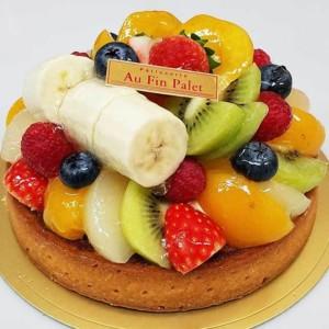 「オー・ファン・パレ」のこだわりフルーツを使った絶品タルト
